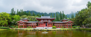 Byodo-In Temple, Valley of the Temples, Hawaii Stock Photo