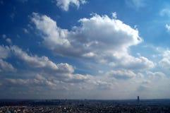 Céu azul sobre Paris Imagens de Stock Royalty Free