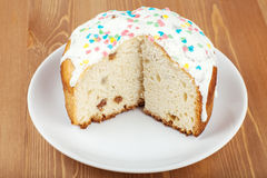 Cake with icing Royalty Free Stock Photos