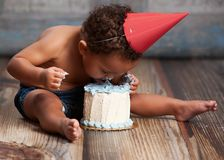 Cake Smash! Stock Images