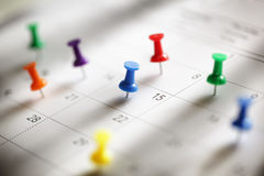 Calendar appointment Royalty Free Stock Image