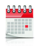 Calendar icon Royalty Free Stock Image