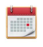 Calendar icon Royalty Free Stock Photos