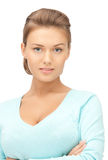 Calm and friendly woman Royalty Free Stock Photos