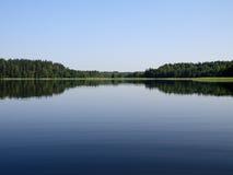 Calm lake Stock Image