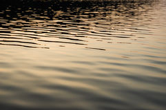 Calm lake water Stock Photography