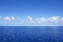 Calm Vibrant Blue Ocean Royalty Free Stock Image