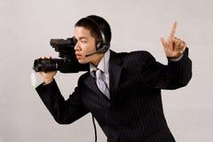 Camera man Stock Image