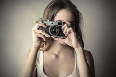 Camera retro Stock Photo