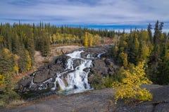 Cameron Falls, Northwest Territories Stock Photography