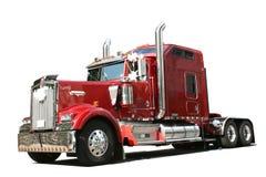 Camion rosso Immagine Stock Libera da Diritti