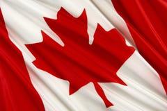 Canadian flag Royalty Free Stock Photos