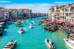 Canal Grande - Venice, Italy Royalty Free Stock Photos