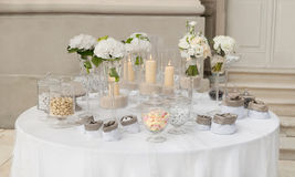 Candy buffet Royalty Free Stock Photography