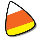 Candy Corn I on Stock Photography