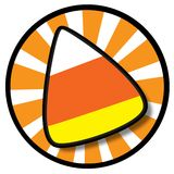 Candy Corn Icon Royalty Free Stock Photo