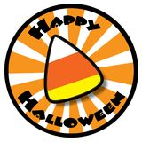 Candy Halloween Icon Stock Image
