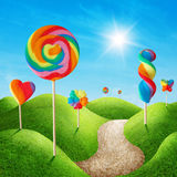 Candy land Royalty Free Stock Photography