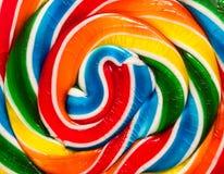Candy swirl background Stock Image