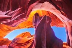 Canyon dell'antilope, Arizona U.S.A. Fotografia Stock Libera da Diritti