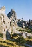 Capadocia fairy chimneys turkey Royalty Free Stock Photo