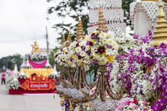 Car decoration parade Stock Photo