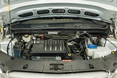 Car engine details Royalty Free Stock Photo