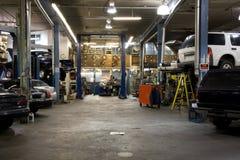 Car fixing garage Stock Photo