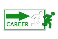 Career occasion icon Stock Image