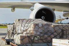 Cargo airplane Stock Image