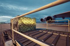 Cargo airplane Royalty Free Stock Photo