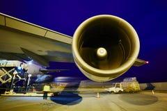 Cargo airplane Stock Photography