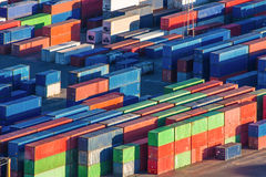 Cargo Freight Containers Royalty Free Stock Photos