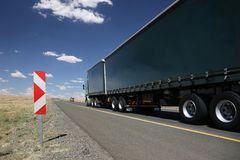Cargo Truck or Lorry Stock Photography