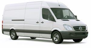 Cargo van car Royalty Free Stock Image
