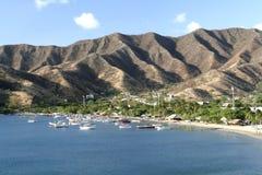 Caribbean Sea. Taganga Bay. Colombia. Stock Image