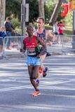 Carles Castillejo von Spanien und Michael Bett von Kenia Stockfoto