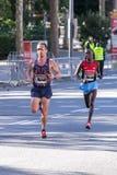 Carles Castillejo von Spanien und Michael Bett von Kenia Lizenzfreies Stockbild
