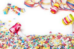 Carnival, Confetti, Party, background Royalty Free Stock Photos