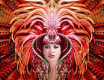 Carnival Queen Stock Image