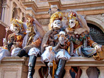 Carnival in Venice Stock Images