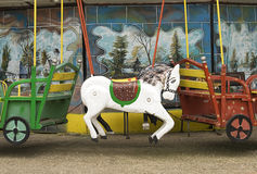 Carousel horse Royalty Free Stock Images