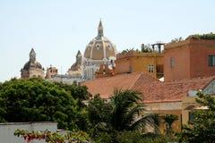 Cartagena de Indias architecture. Colombia Stock Photography