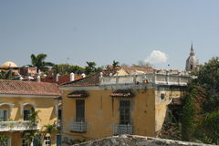 Cartagena de Indias architecture. Colombia Stock Image