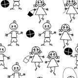 Cartoon repetition Stock Photos