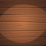 Cartoon wooden surface Royalty Free Stock Photography