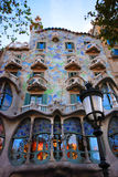 Casa Batllo in Barcelona Royalty-vrije Stock Afbeelding