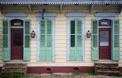 casa fronta Luisiana New Orleans Immagini Stock