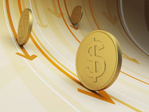 Cash flow Royalty Free Stock Image