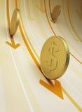 Cash flow Stock Image